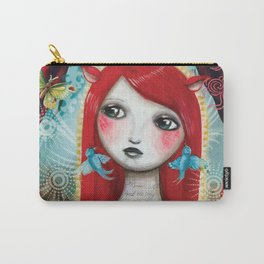 Alice's on Stage by CJ Metzger Carry-All Pouch