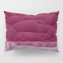 Quilted Stripe Pantone Ultra Violet Design Pillow Sham