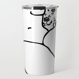 Bed of Flowers Travel Mug