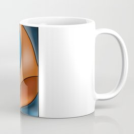 Lines Of Stained Glass Coffee Mug