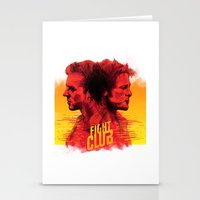 fight Stationery Cards featuring fight  by İsmail Kocabas