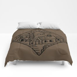 """House of Sun"" Comforters"