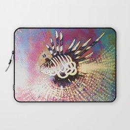 """Night Lion"" Deep Sea Creature Painting , American contemporary wall Art, prints, canvas decor Laptop Sleeve"