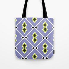 Lilac Aztec Tote Bag