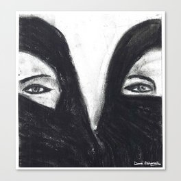I am what I am Canvas Print
