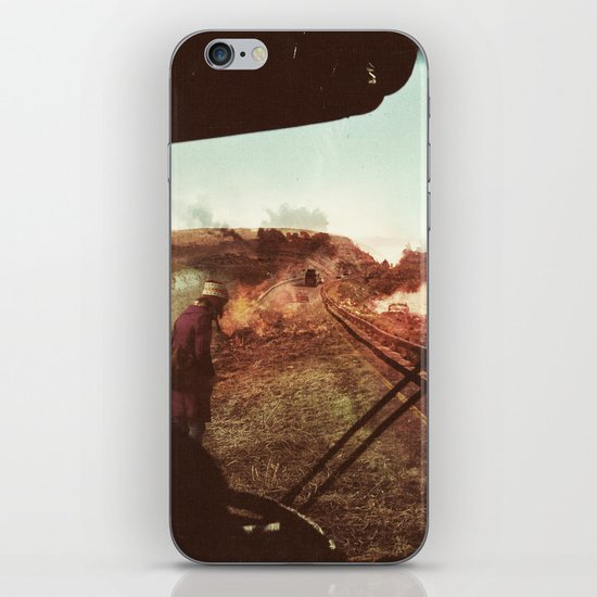 End Of The Road iPhone & iPod Skin