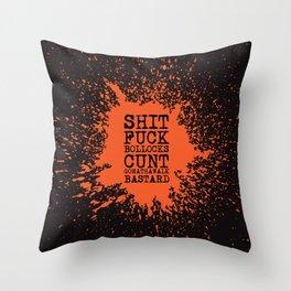 BOLD WORDS Throw Pillow