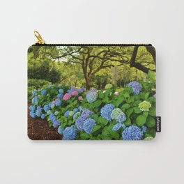 Colorful Pom-Poms Carry-All Pouch