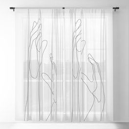 Side By Side Sheer Curtain