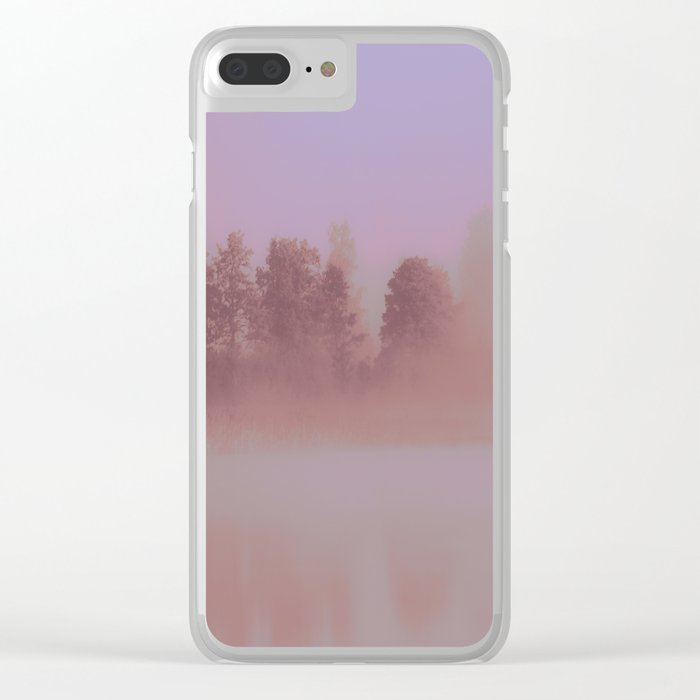 Over The Rainbow Forest #decor #society6 #buyart Clear iPhone Case