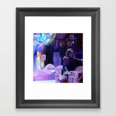 Slow Smooch Framed Art Print