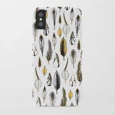 Feathers iPhone X Slim Case