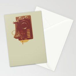 Old phone Stationery Cards