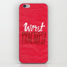 Worst Practices iPhone Skin