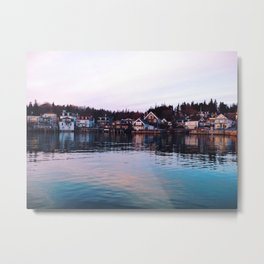 Life on the Water Metal Print