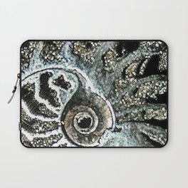 Pyrite after Ammonite Laptop Sleeve