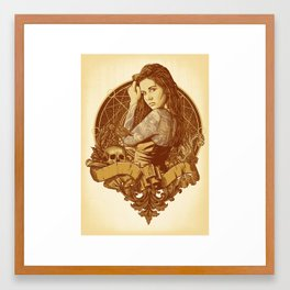 Death Angel Framed Art Print