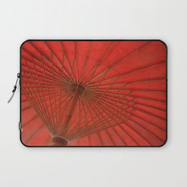 Big Asia Umbrella Red Colors Laptop Sleeve