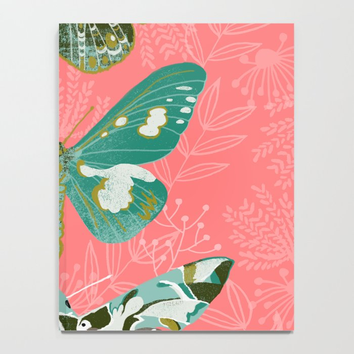 Lepidoptery No. 5 by Andrea Lauren  Notebook