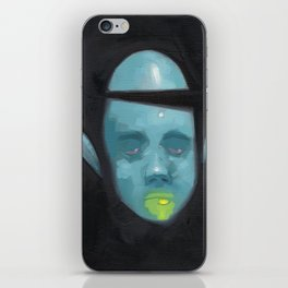 Bored and Blue iPhone Skin