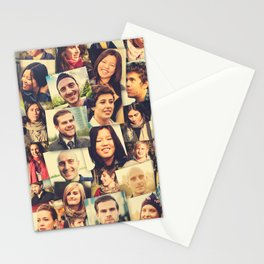 social media people Stationery Cards