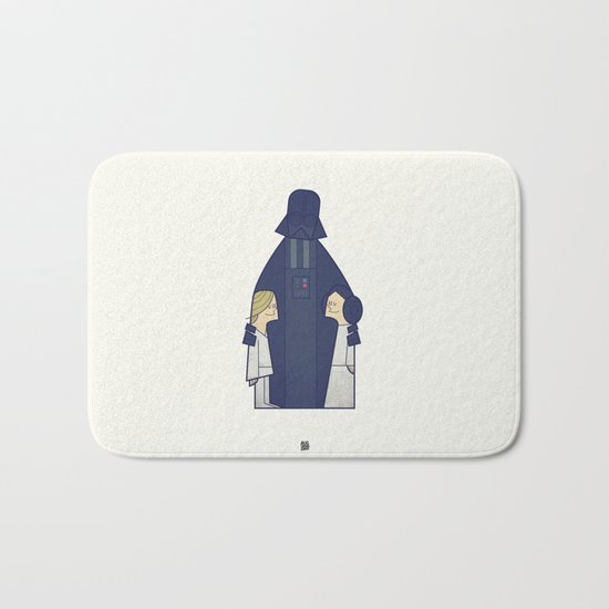 May the Love be with you Bath Mat