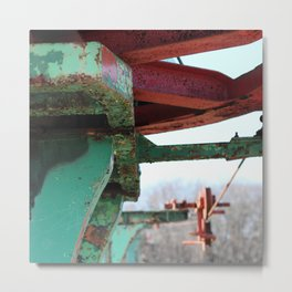 Rocky Point Decay Metal Print