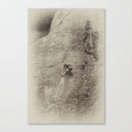 Yosemite Rock Climber Canvas Print