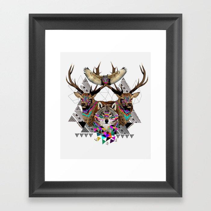 ▲FOREST FRIENDS▲ Framed Art Print