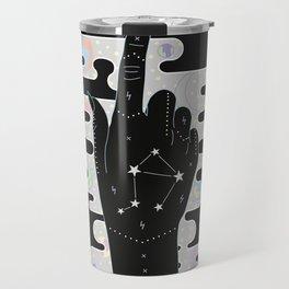 Libra - Zodiac Illustration Travel Mug