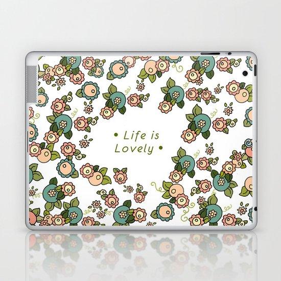 Life is Lovely Laptop & iPad Skin