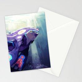 Alpha - Kyogre Stationery Cards