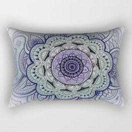 Mandala Violet Rectangular Pillow