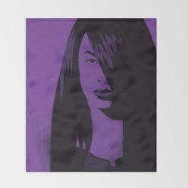 Aaliyah Throw Blanket