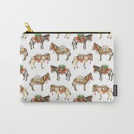 Nepal Donkeys Carry-All Pouch