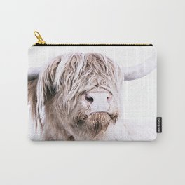 HIGHLAND CATTLE PORTRAIT Carry-All Pouch