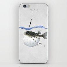 Take It Outside! iPhone & iPod Skin