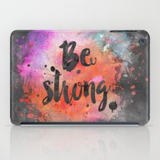 Be strong iPad Case