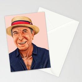Hipstory - Leonard Cohen Stationery Cards