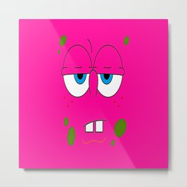 spongbob pink Metal Print