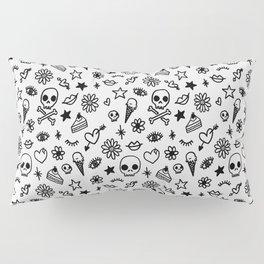 Doodle Pattern Pillow Sham