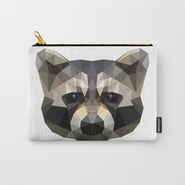 Low poly trash panda Carry-All Pouch