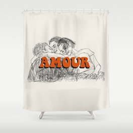 Amour Shower Curtain
