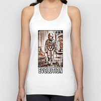 2001 Tank Tops featuring 2001 by Joe Badon
