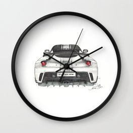 Evora GTE Wall Clock