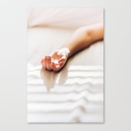Hand in Sunlight Canvas Print