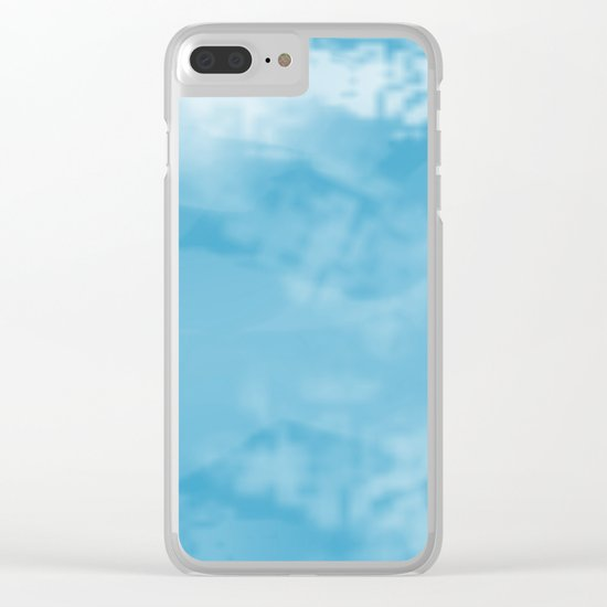 Turquoise Clear iPhone Case