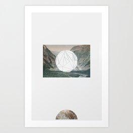 A fine circle Art Print