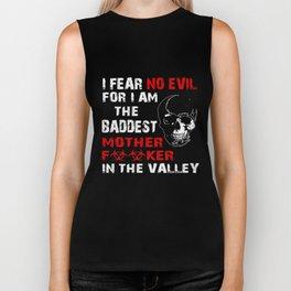 Veteran T-Shirt I Fear No Evil In The Valley Veteran Gift Biker Tank