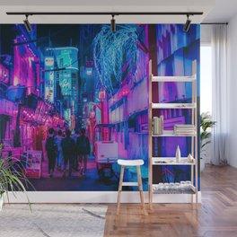 Candy Floss Neon Wall Mural